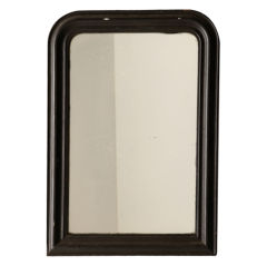 fabulous black louis phillipe mirror
