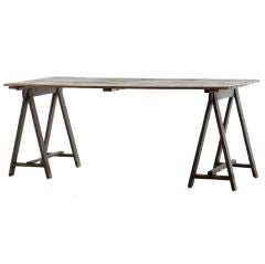 gray vintage table