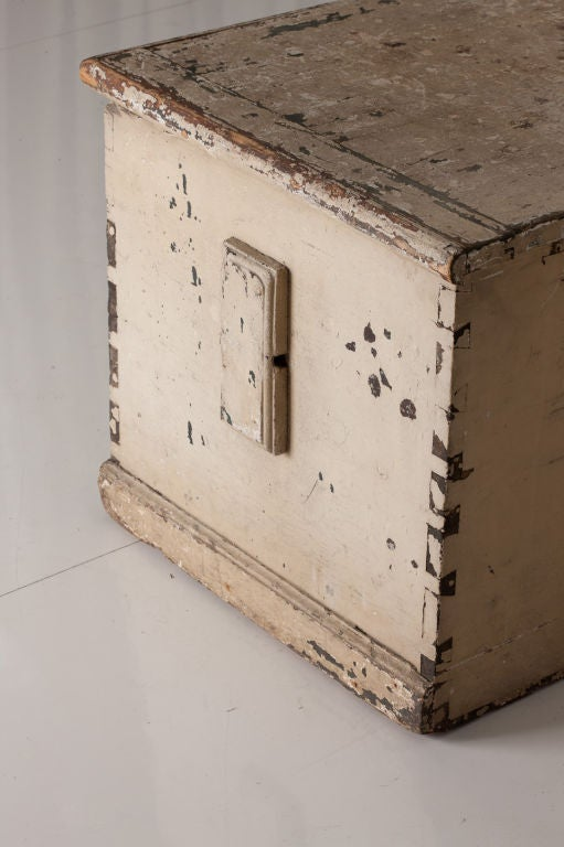 Old Sea Captains Chest At 1stdibs