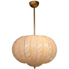 Murano Globe Ceiling Fixture