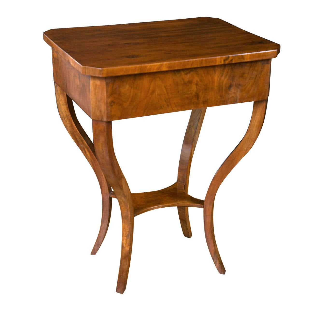 Captivating Early Biedermeier Table For Sale