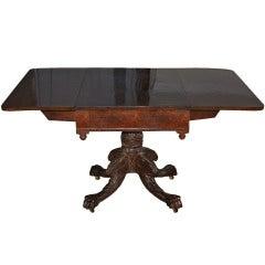 New York Classical Drop-leaf Pedestal Table
