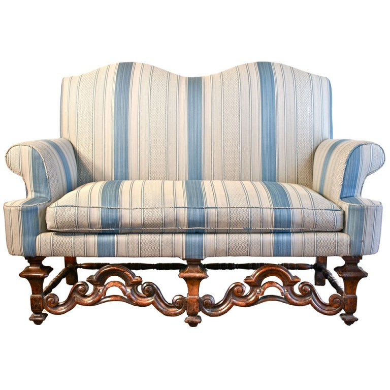 William and Mary Dutch Baroque Settee For Sale