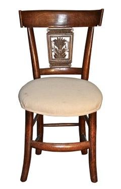 Italian Neoclassical Frumento Side Chair