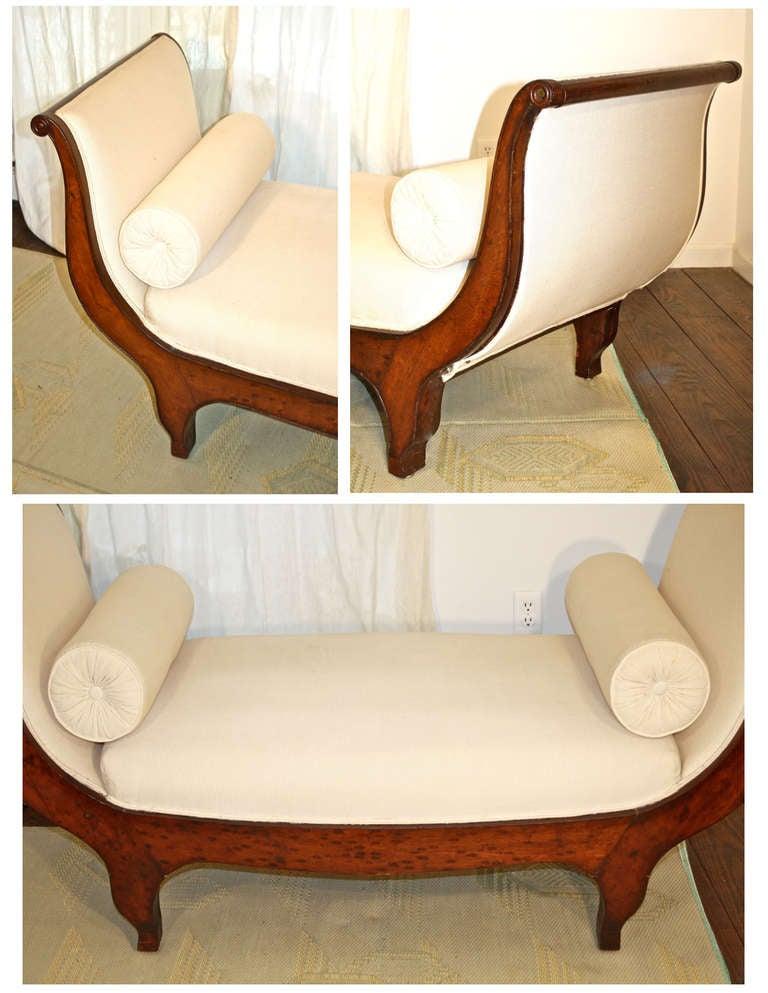 french restauration lit de repos at 1stdibs. Black Bedroom Furniture Sets. Home Design Ideas