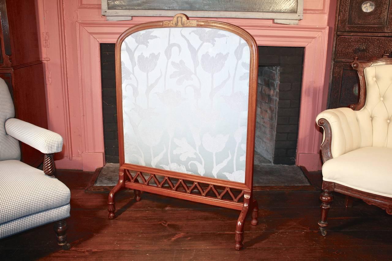 wood fireplace screens. Art Nouveau Fireplace Screen  Shop of Eugene Gaillard 3 For Sale at