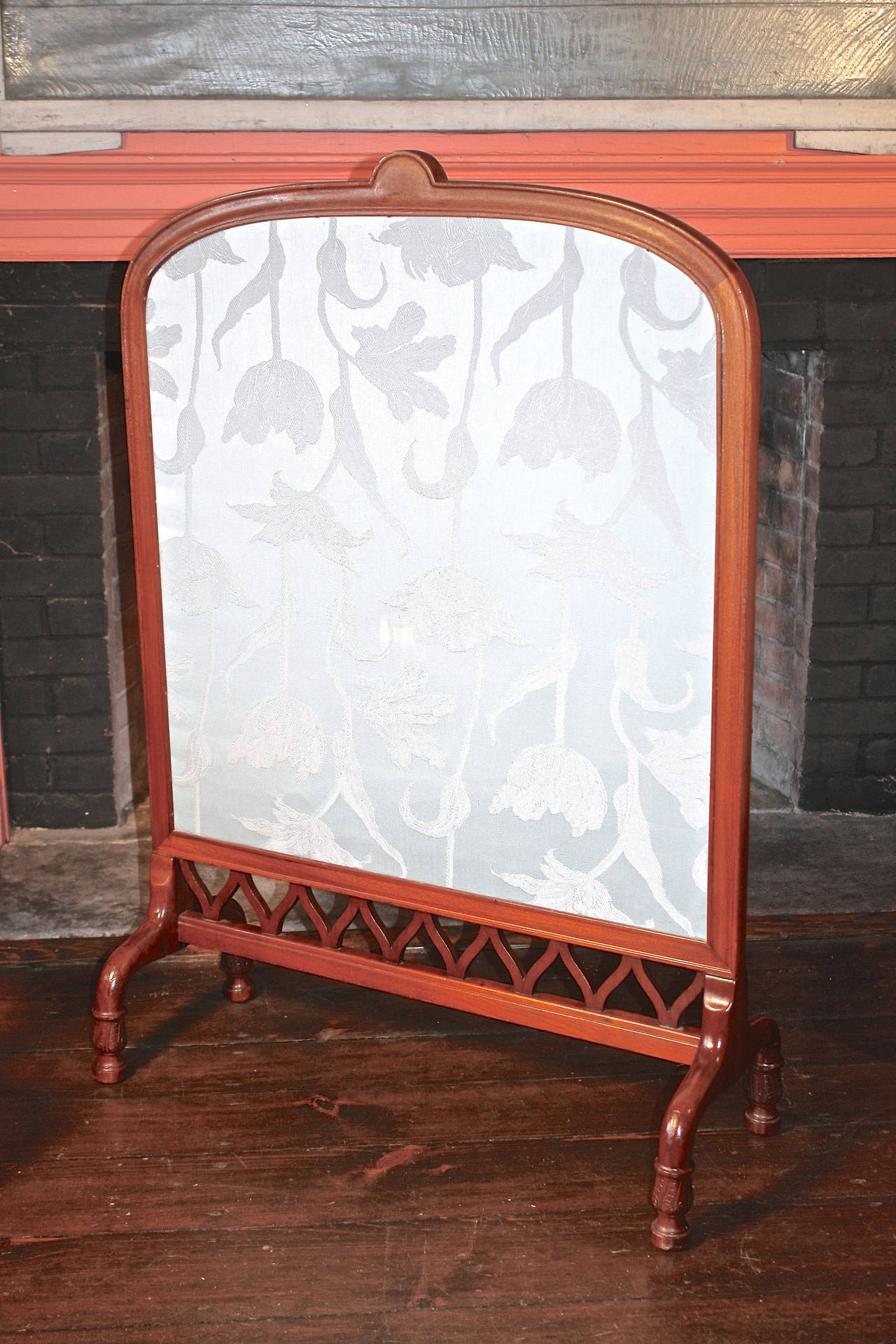 Art Nouveau Fireplace Screen Shop Of Eugene Gaillard For Sale At 1stdibs