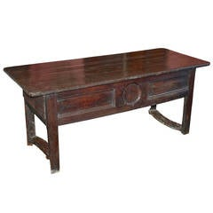 Chestnut Refectory Serving Table