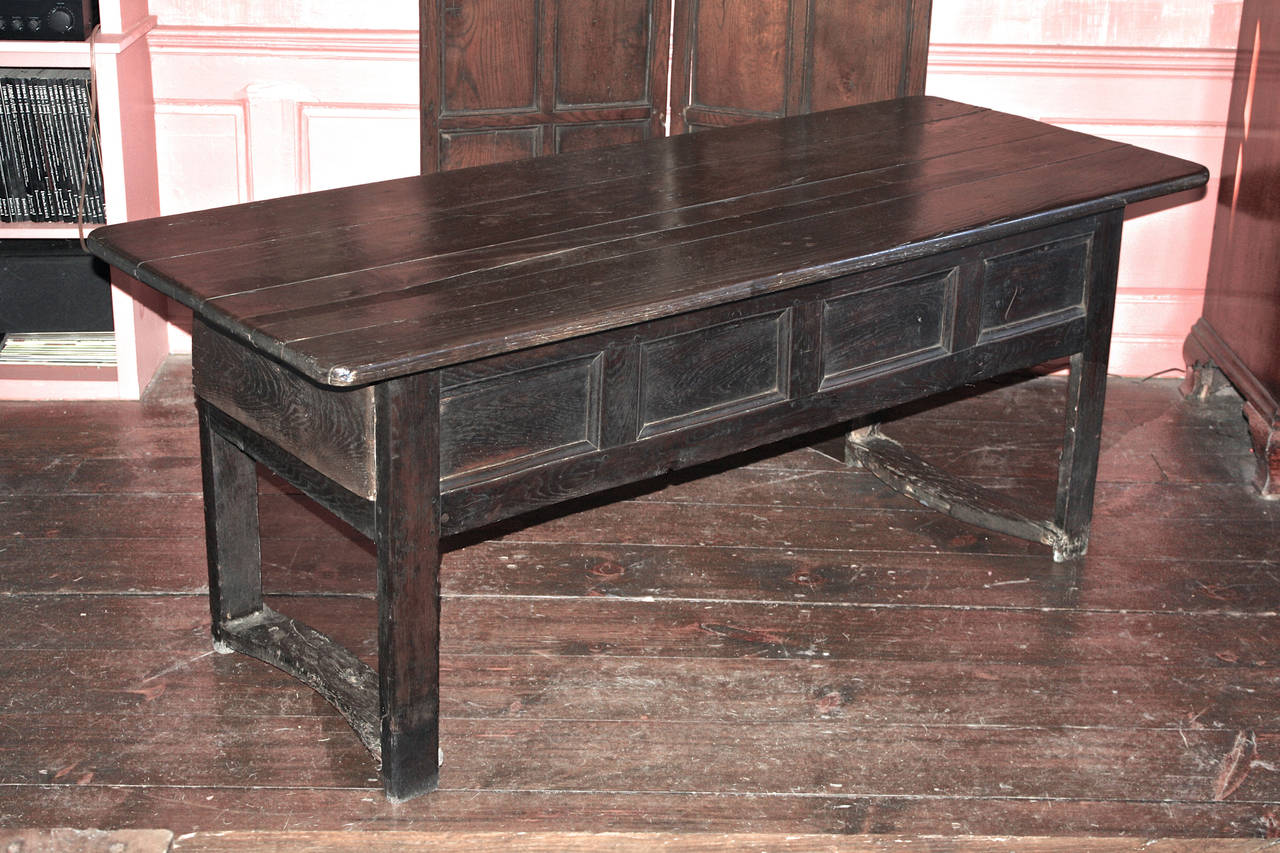George I Early Georgian Refectory Table For Sale