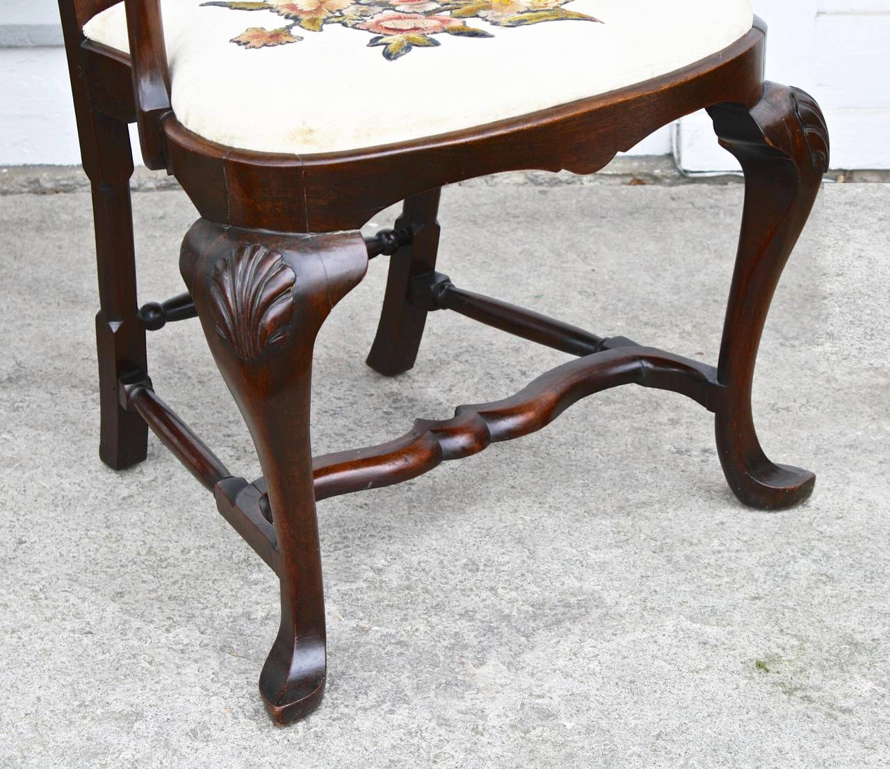 FOURTEEN American Queen Anne Revival Dining Chairs For Sale 1