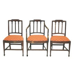 10 New York City Federal - Slover & Taylor Dining Chairs