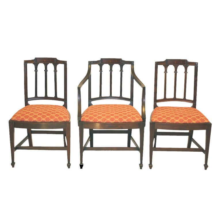 10 new york city federal slover and taylor dining chairs at 1stdibs