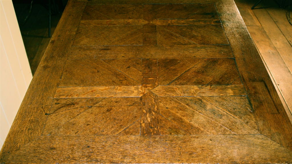 English Oak Draw-leaf Table Style of James I For Sale 6