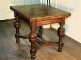 English Oak Draw-leaf Table Style of James I image 8