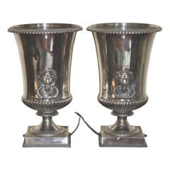 PAIR Sheffield Bottle Cooler Up-Lights