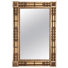 American Classical Giltwood Pier or Overmantle Mirror