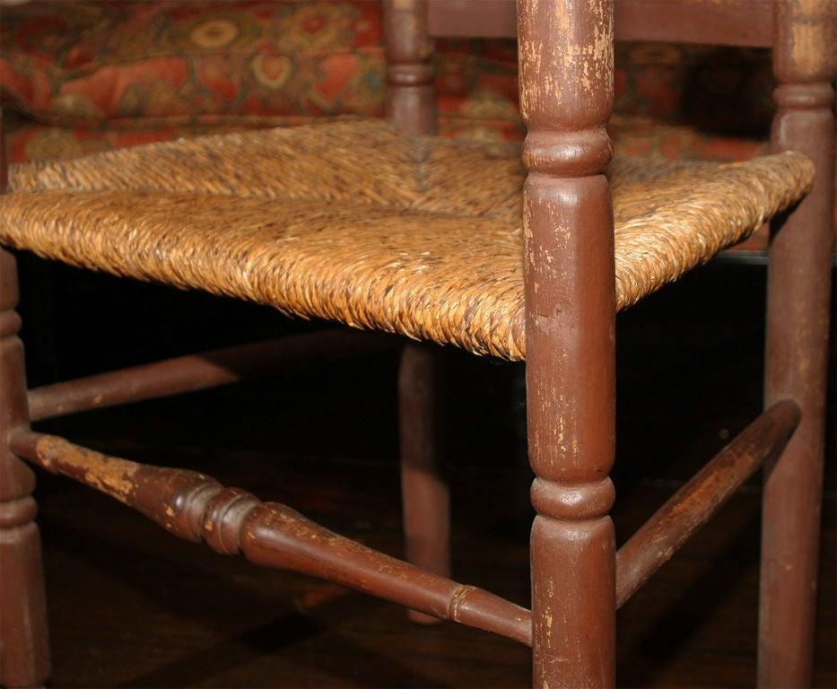American Massachusetts Slat-Back Armchair For Sale