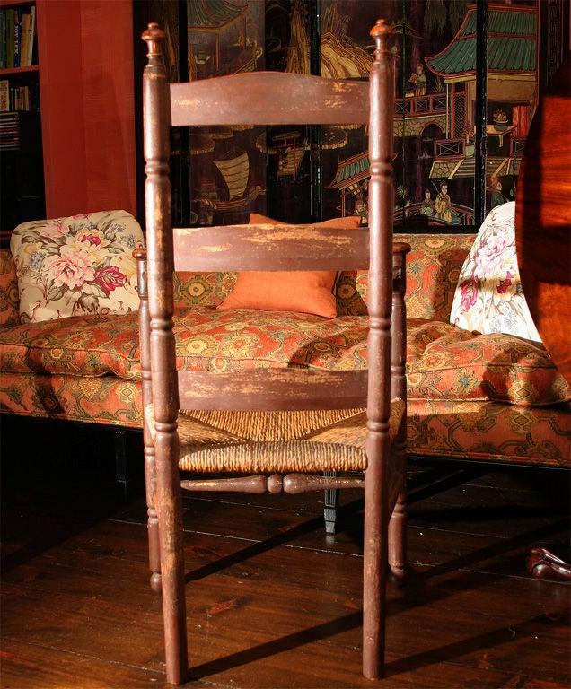 Ash Massachusetts Slat-Back Armchair For Sale