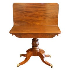 Boston Classical Card Table