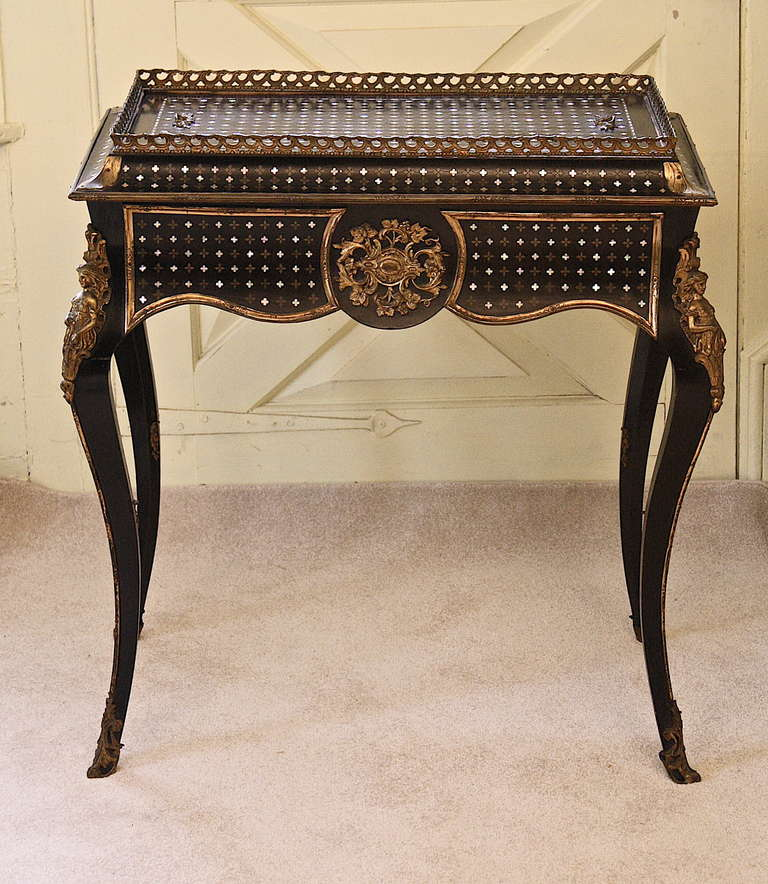 Napoleon iii sormani 39 rococo 39 jardiniere table at 1stdibs for Jardiniere napoleon 3