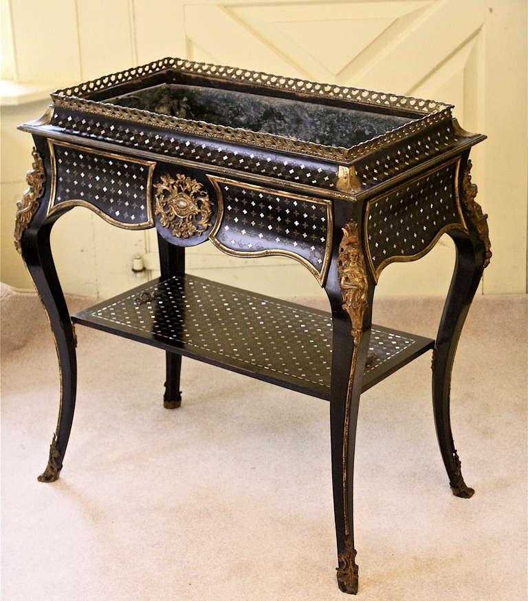 Napoleon III Sormani 'Rococo' Jardiniere Table 3