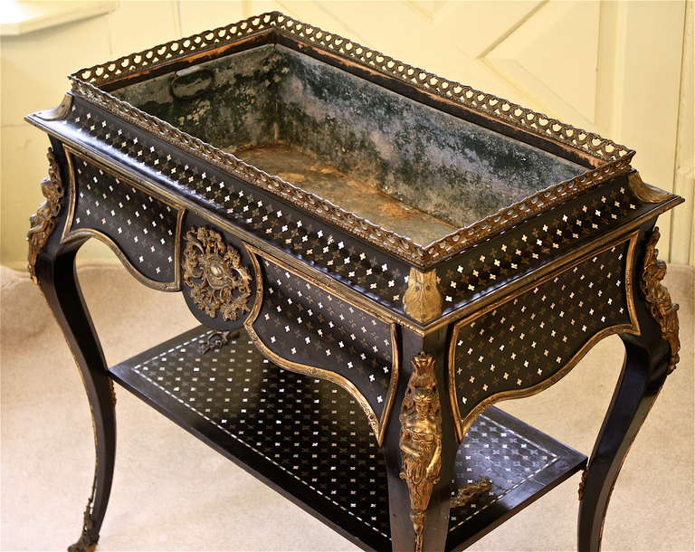 Napoleon III Sormani 'Rococo' Jardiniere Table 4