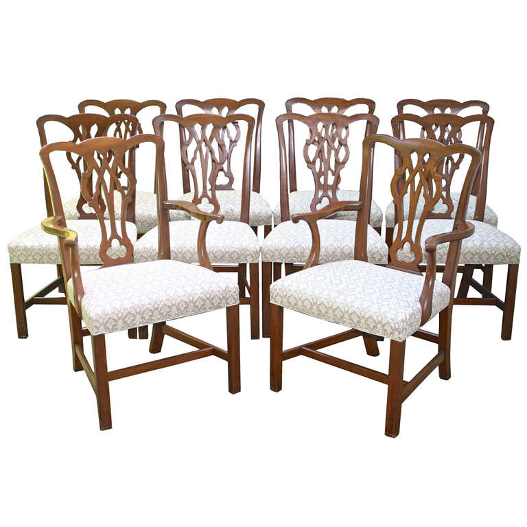 10 american chippendale revival dining chairs is no longer available