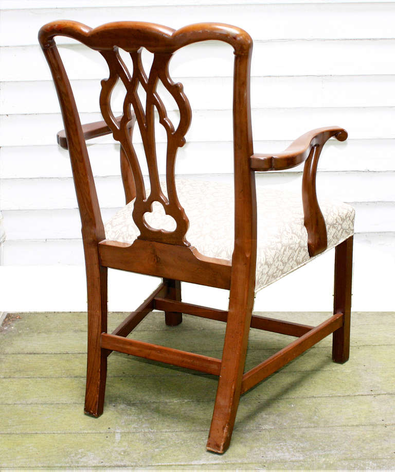 set of 10 american chippendale revival dining chairs at 1stdibs