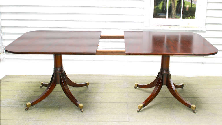 federal revival double pedestal dining table is no longer available