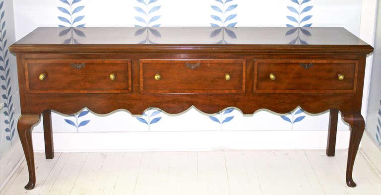Queen Anne Revival Dresser Base Sideboard At 1stdibs
