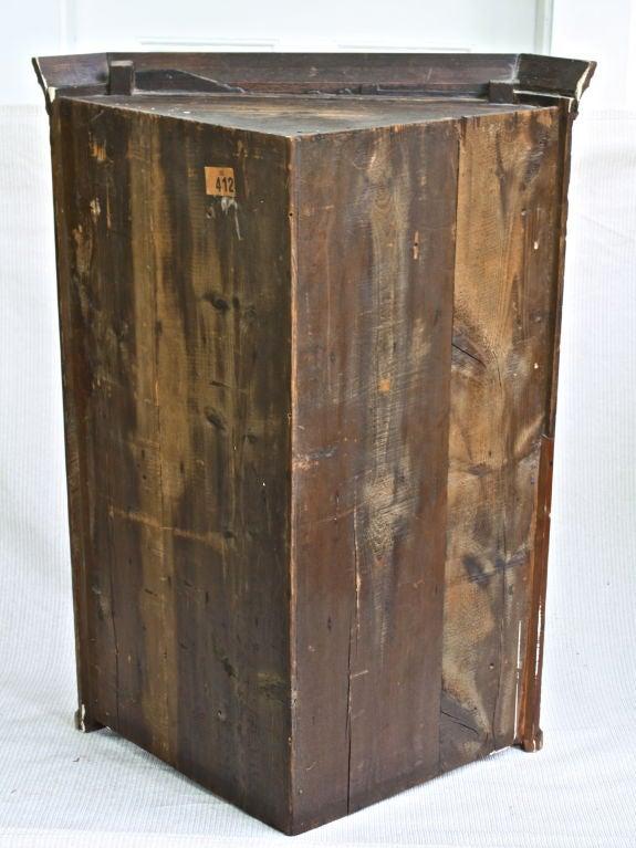 Scottish Hepplewhite Inlaid Corner Cabinet For Sale 4