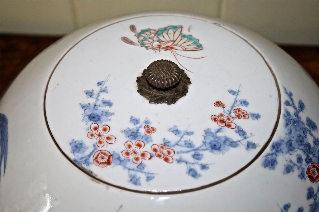 Edo Japanese Porcelain Shonzui Mizusashi For Sale