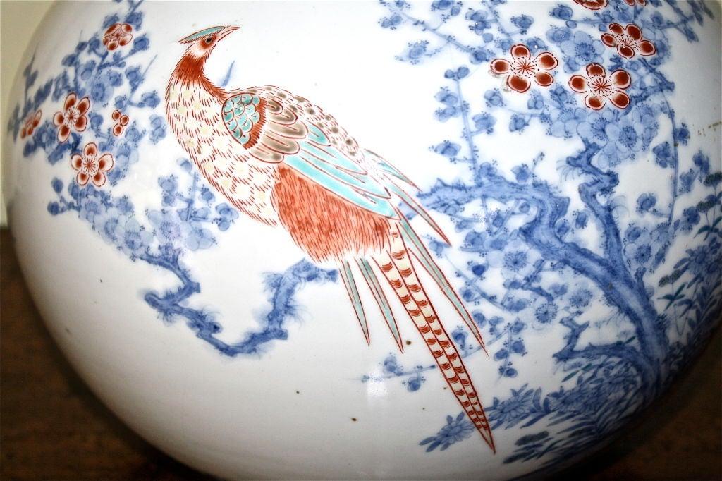 18th Century Japanese Porcelain Shonzui Mizusashi For Sale