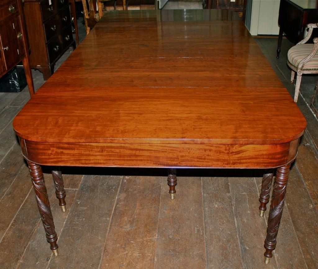 New York Federal Mahogany Dining Table John Budd Shop  : 866713120519943 from www.1stdibs.com size 1024 x 867 jpeg 147kB