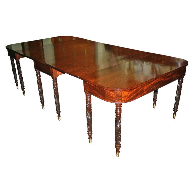 New York Federal Mahogany Dining Table John Budd Shop  : XXX866713120519941 from www.1stdibs.com size 768 x 768 jpeg 42kB