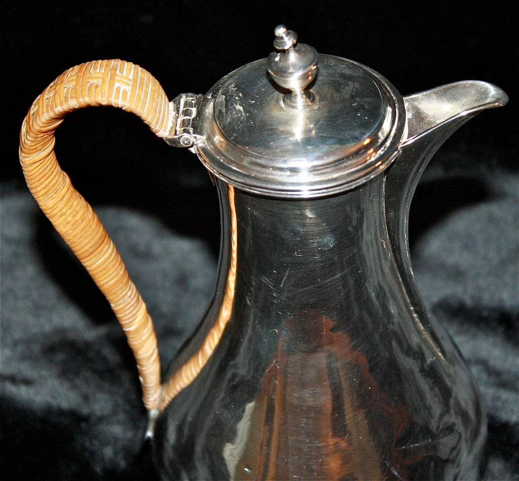 George III Sterling Silver Coffee Pot 5