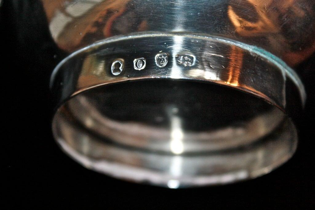 George III Sterling Silver Coffee Pot 8