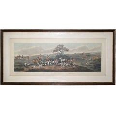 Sutherland Engraving - Fox Hunting