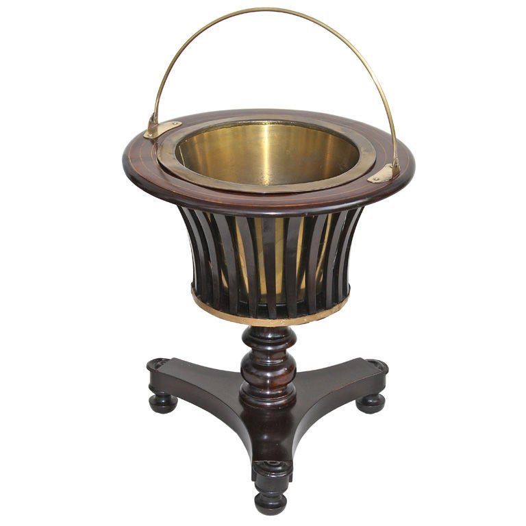 William IV Slatted Urn Wine Cooler For Sale