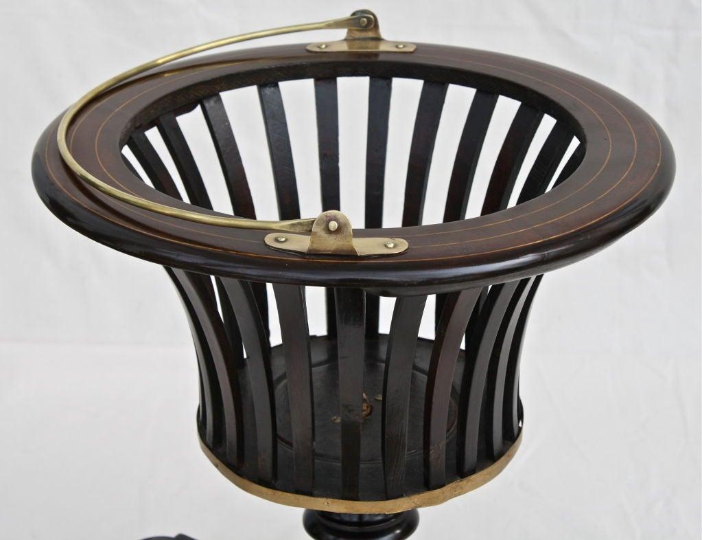 English William IV Slatted Urn Wine Cooler For Sale