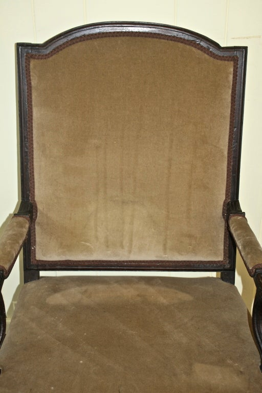 Regence Fauteuil Salon Armchair In Good Condition For Sale In Woodbury, CT