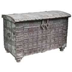 Moroccan Ironbound Coffer