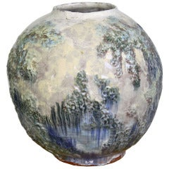 American Arts & Crafts Pottery Vase