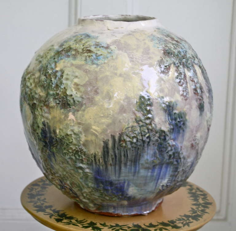 American arts and crafts pottery vase for sale at 1stdibs for Arts and crafts pottery