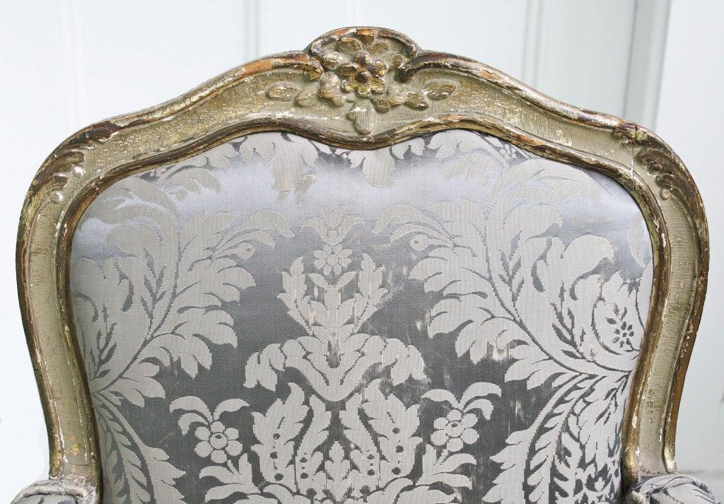 Italian Rococo Genoese Fauteuil 5