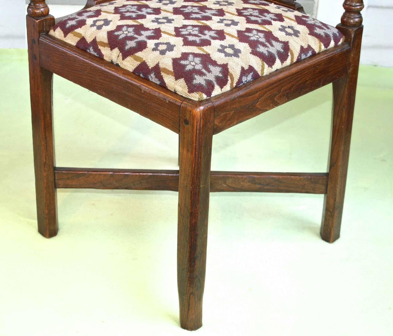 George II Corner Chair 8