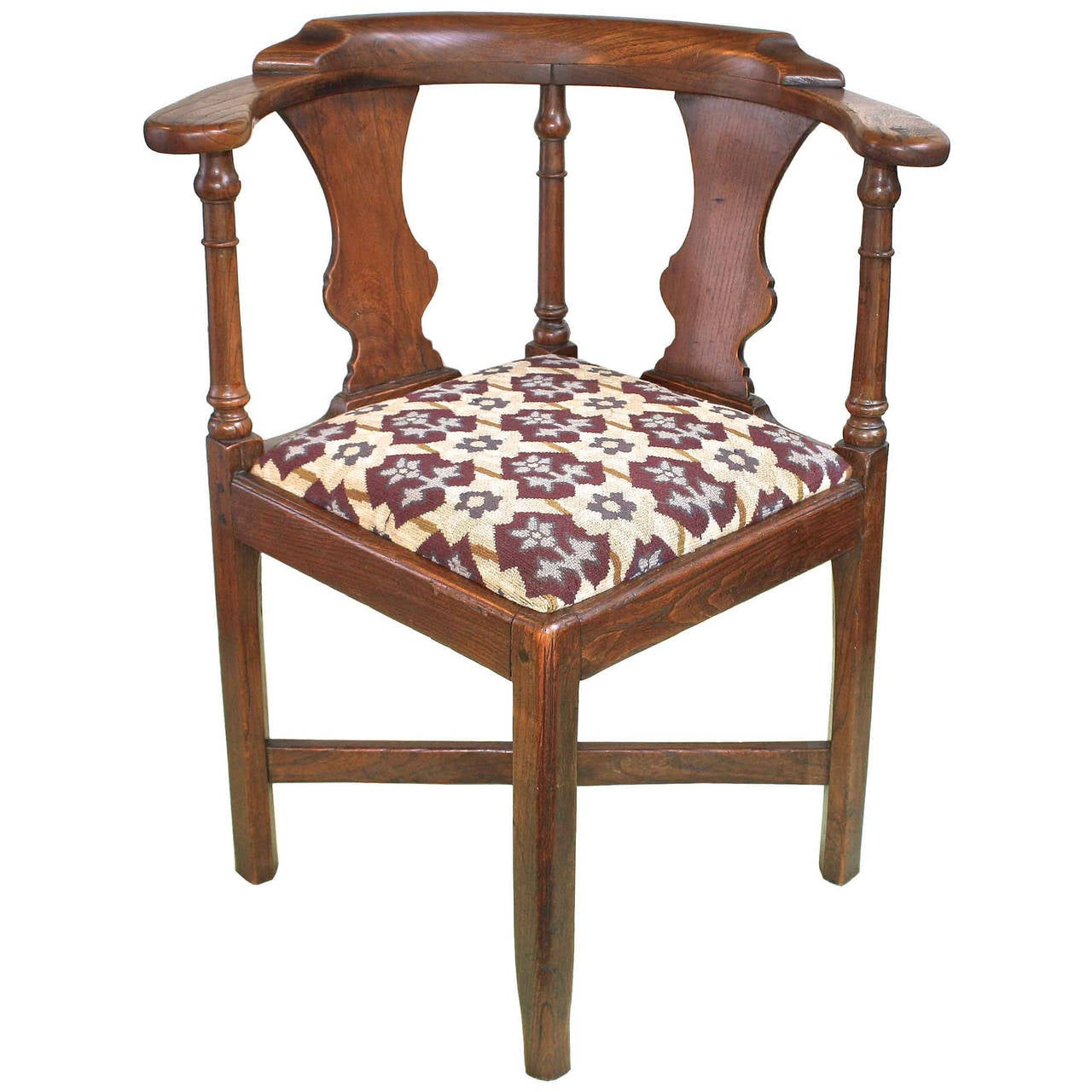 George ii corner chair at 1stdibs for Furniture chairs
