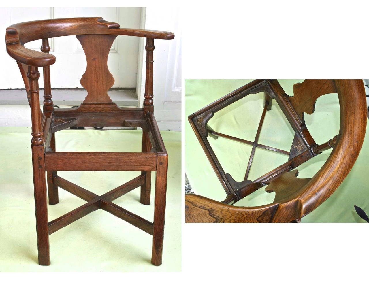 George II Corner Chair 10
