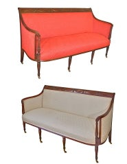 Duncan Phyfe New York Federal Sofa - Single or Collector's Pair image 10