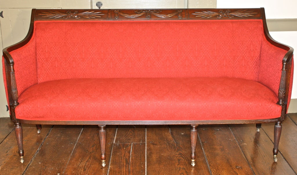 Duncan Phyfe Federal Period Sofa At 1stdibs